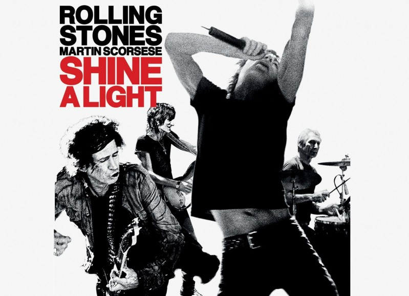 Kino: The Rolling Stones: Shine a light (glasbeni dokumentarec)